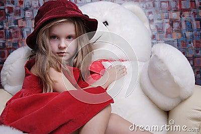 Beautiful little girl.