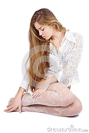 Free Beautiful Long Hair Stock Images - 4433724