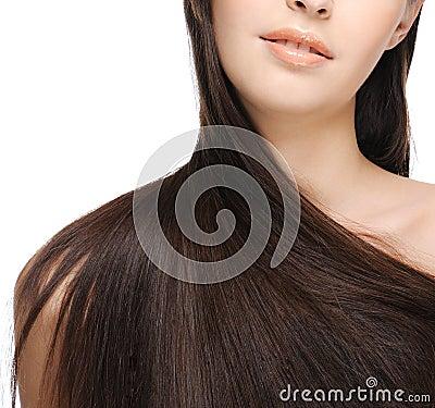 Free Beautiful Long Hair Royalty Free Stock Photography - 9095447