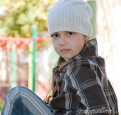 Beautiful look of the child