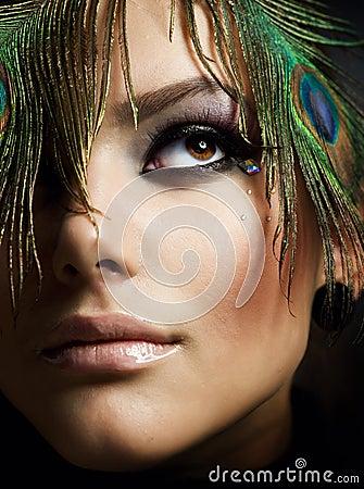 Free Beautiful Makeup Stock Photography - 16352842