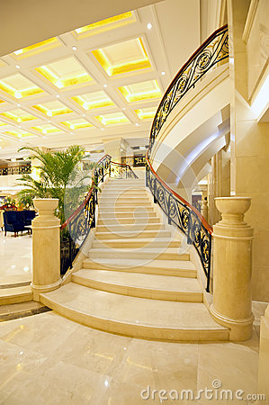 Beautiful marble stairs