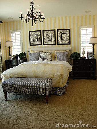 Free Beautiful Master Bed Room Royalty Free Stock Photography - 10335987