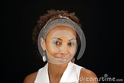 Beautiful Mature Black Woman Headshot (1)