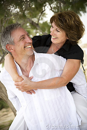 Free Beautiful Mature Couple In Love Royalty Free Stock Photography - 9501837