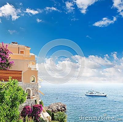 Beautiful mediterranean landscape.