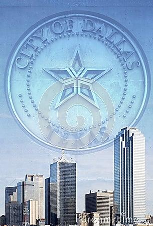 Beautiful modern city of Dallas