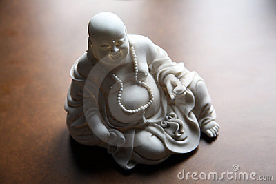 Beautiful monk statue