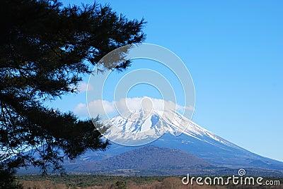 The beautiful Mount Fuji