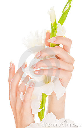 Beautiful nails and fingers