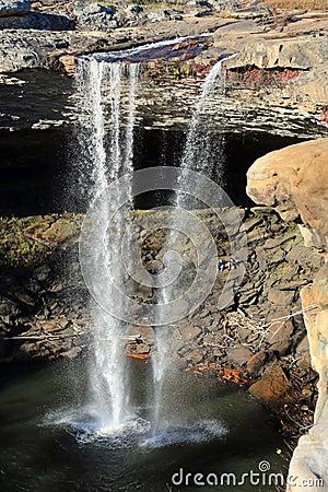 Free Beautiful Noccalula Falls Stock Photo - 27893470