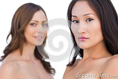 Beautiful nude models posing