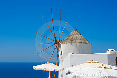 Beautiful Oia windmill