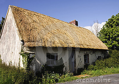 Beautiful old thatched cottage
