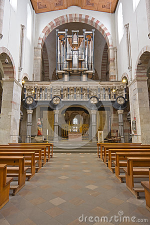 Beautiful organ-loft