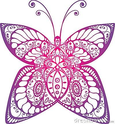 Beautiful original butterfly