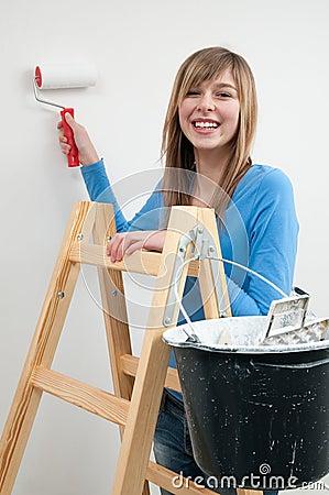Beautiful painter