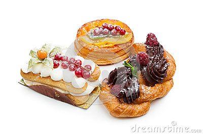 Beautiful pastry cakes