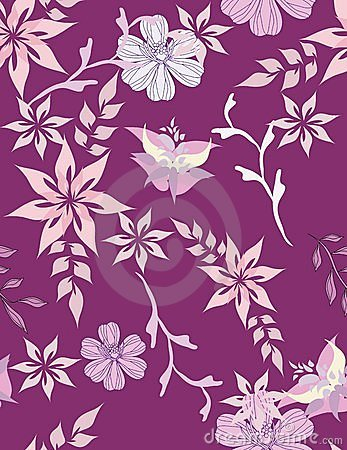 Beautiful pattern floral