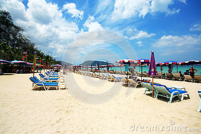 Beautiful phuket beach
