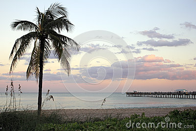Lauderdale-by-the-Sea, Florida Sunset