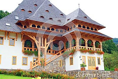Beautiful place in barsana monastery