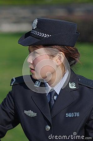 Beautiful policewoman