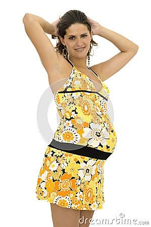 Beautiful pregnant