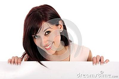 Beautiful Presentation Girl