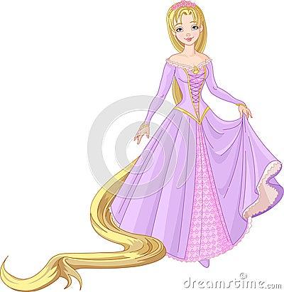 Free Beautiful Princess Rapunzel Royalty Free Stock Photos - 18744028