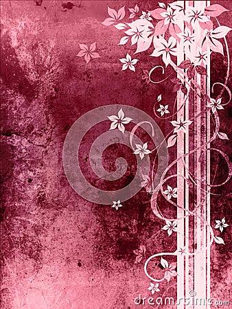 Beautiful purple grungy background
