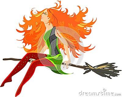 Beautiful redheaded