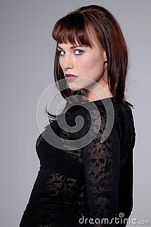 Beautiful Redheaded Woman