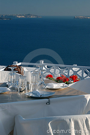 Beautiful restaurant setting