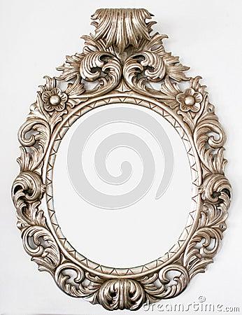 Free Beautiful Retro Baroque Mirror Royalty Free Stock Image - 5631986