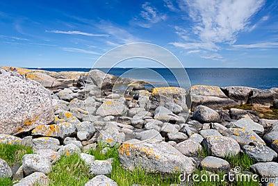 Beautiful rocky coast