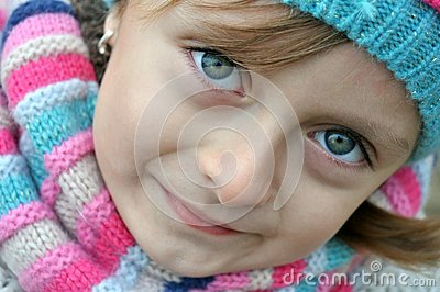 Beautiful Romanian girl portrait