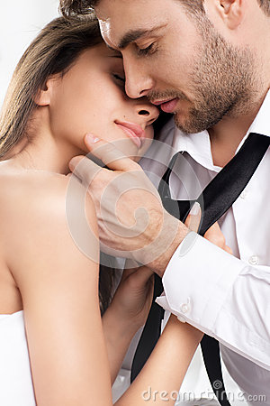 Free Beautiful Romantic Couple Of Lovers Stock Image - 30096931