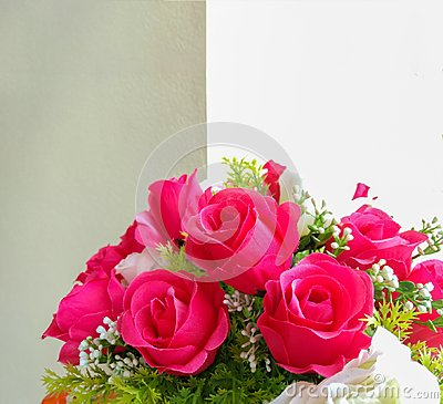 Free Beautiful Roses In Vase Stock Photography - 108048022
