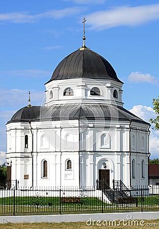 Beautiful Russian village church