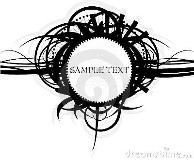 Beautiful sample text background