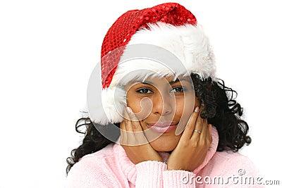 Beautiful santa