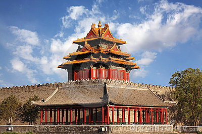 Beautiful scenery at The Forbidden City