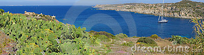Beautiful sea cove panorama, Sardinia - Italy