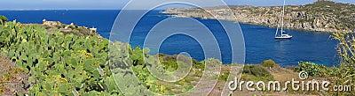Beautiful sea cove panorama, Sardinia - Italy