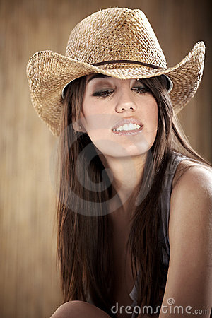 Beautiful Sexy  Cowgirl
