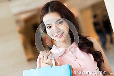 Beautiful shopper