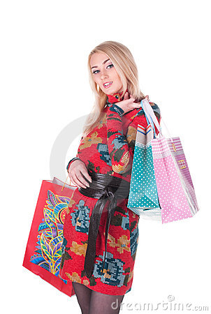 Beautiful shopping