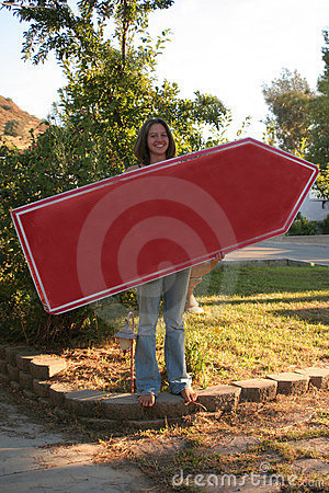 Beautiful Sign Waver or Spinner