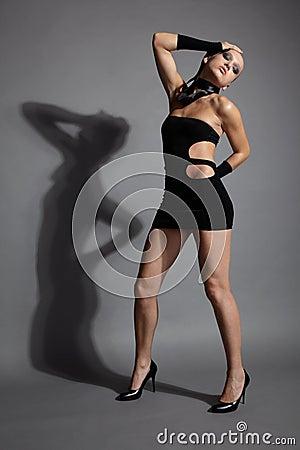 Beautiful slavonic model